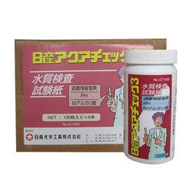 水質検査試験紙 日産アクアチェック3(600枚/ケース)
