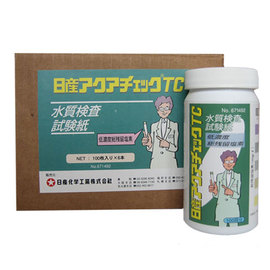 水質検査試験紙 日産アクアチェックTC(600枚/個)