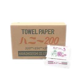 5,000枚入りペーパータオル(タオルハニー200)